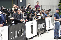 Media <br /> Torino 16-07-2018 Cristiano Ronaldo arrives for mediacal visits at J Medical <br /> foto Daniele Buffa/Image Sport/Insidefoto
