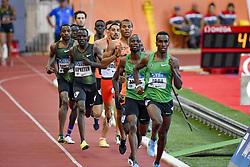 July 20, 2018 - Monaco, France - 800 metres hommes - Harun Abda (Etat Unis) - Nijel Amos  (Credit Image: © Panoramic via ZUMA Press)