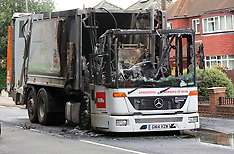 Rubbish Truck Gutted