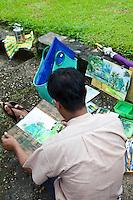Burmese Artist -  Kandawgyi Nature Park
