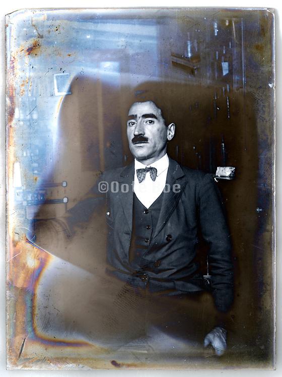 self portrait France ca 1930s