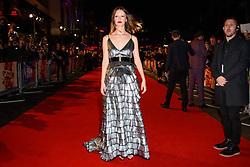 Mia Goth attending the Suspiria Premiere as part of the BFI London Film Festival at Cineworld Cinema in London. Picture date: Tuesday October 16th, 2018. Photo credit should read: Matt Crossick/ EMPICS Entertainment.