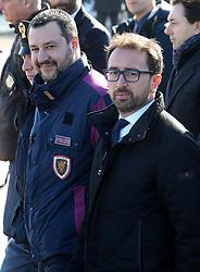Arrival at the Ciampino airport of the terrorist Cesare Battisti, arrested Sunday in Bolivia and extradited to Italy. 15 Jan 2019 Pictured: Cesare Battisti. Photo credit: MEGA TheMegaAgency.com +1 888 505 6342