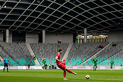 Kontek Ivan of NK Aluminij during football match between NK Olimpija Ljubljana and NK Aluminij in Round #27 of Prva liga Telekom Slovenije 2018/19, on April 14th, 2019 in Stadium Stozice, Slovenia Photo by Matic Ritonja / Sportida
