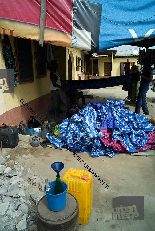Wax resist dyeing in Nigeria - 2011
