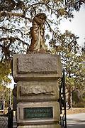 Gate to historic Bonaventure Cemetery in Savannah, Georgia, USA.