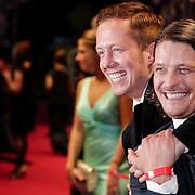 NLD/Utrecht/20121005- Gala van de Nederlandse Film 2012, Teun Kuilboer en Robert de Hoog