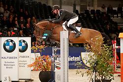 Vrieling Jur, NED, Baltic VDL<br /> KWPN Stallionshow - 's Hertogenbosch 2018<br /> © Hippo Foto - Dirk Caremans<br /> 01/02/2018