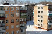 Apartments in Komsomolsk-on-Amur, Siberia, Russia