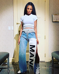 """Ciara releases a photo on Instagram with the following caption: """"She Readt. \ud83d\ude1d"""". Photo Credit: Instagram *** No USA Distribution *** For Editorial Use Only *** Not to be Published in Books or Photo Books ***  Please note: Fees charged by the agency are for the agency's services only, and do not, nor are they intended to, convey to the user any ownership of Copyright or License in the material. The agency does not claim any ownership including but not limited to Copyright or License in the attached material. By publishing this material you expressly agree to indemnify and to hold the agency and its directors, shareholders and employees harmless from any loss, claims, damages, demands, expenses (including legal fees), or any causes of action or allegation against the agency arising out of or connected in any way with publication of the material."""