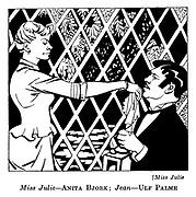 Miss Julie : Anita Bjork and Ulf Palme..
