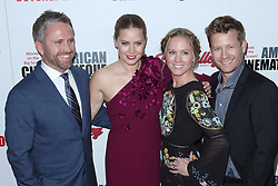 Amy Adams, her sister and brothers at the 31st Annual American Cinematheque Awards Gala held at the Beverly Hilton Hotel on November 10, 2017 in Beverly Hills, California, USA (Photo by Art Garcia/Sipa USA)
