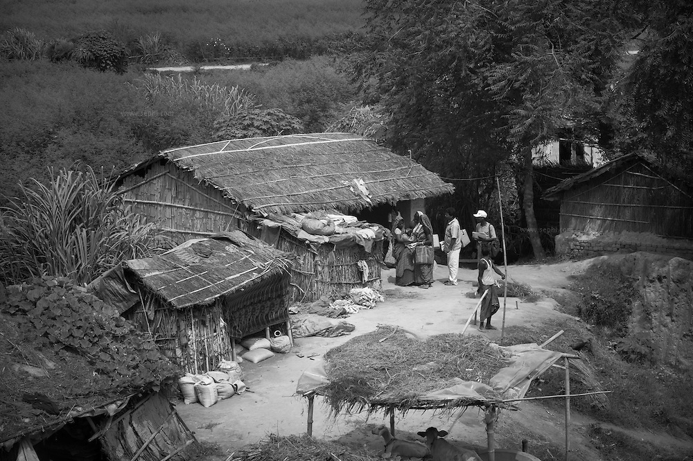 Vaccinators reaching under-served communities at Alauli block, Khagaria, Bihar.