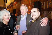 BRIAN COX, The Almeida Theatre  celebrates Mike Attenborough's 11 brilliant years as Artistic Director. Middle Temple Hall,<br /> Middle Temple Lane, London, EC4Y 9AT