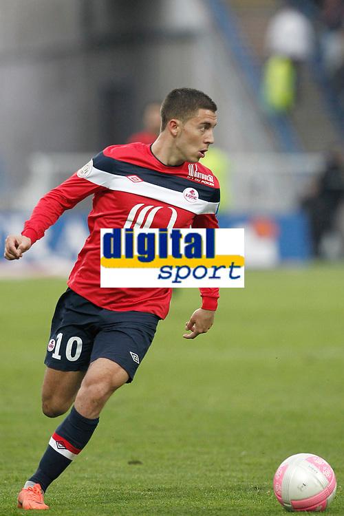 FOOTBALL - FRENCH CHAMPIONSHIP 2011/2012 - L1 - LILLE OSC v SM CAEN - 7/05/2012 - PHOTO CHRISTOPHE ELISE / DPPI - EDEN HAZARD (LOSC)