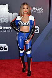 Serayah McNeill attends the 2018 iHeartRadio Music Awards at the Forum on March 11, 2018 in Inglewood, California. Photo by Lionel Hahn/AbacaPress.com