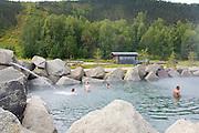 Chena Hot springs outdoor baths In Alaska