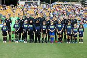 Anthems during the Cup of Nations Women's Football match, New Zealand Football Ferns v Matildas, Leichhardt Oval, Thursday 28th Feb 2019. Copyright Photo: David Neilson / www.photosport.nz