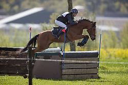 Verwimp Jarno, (BEL), Orchid's Giovanni<br /> Nationale Finale AVEVE Eventing Cup voor Pony's<br /> Minderhout 2016<br /> © Dirk Caremans