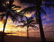 Sunrise, Rarotonga, Cook Islands<br />