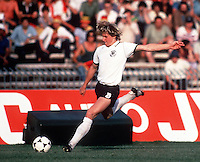 Bernd Schuster (West Germany) European Football Championships, Italy, 1980. Credit: Colorsport