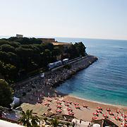 MON/Monte Carlo/20100512 - World Music Awards 2010, overzicht vanuit hotelkamer