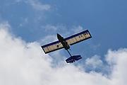 An Ultralight aircraft in flight