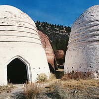 1. When was this photo taken?<br /> <br /> September 2008<br /> <br /> 2. Where was this photo taken?<br /> <br /> Beehive Kilns near Melrose Montana<br /> <br /> 3. Who took this photo?<br /> <br /> Philip Maechling<br /> <br /> 4. What are we looking at here?<br /> <br /> Kilns for charcoal for smelting.<br /> <br /> 5. How does this old photo make you feel?<br /> <br /> A place near me<br /> <br /> 6. Is this what you expected to see?<br /> <br /> No Idea<br /> <br /> 7. Does this photo bring back any memories?<br /> <br /> Montana places where I work<br /> <br /> 8. How do you think others will respond to this photo? <br /> <br /> Curious about Montana sites?