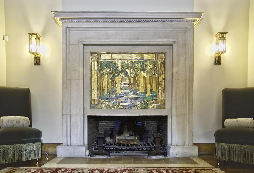 George Maher designd Fireplace