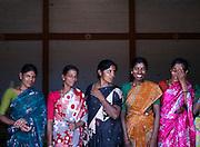 Workers at a coffee plantation, Malabar, Kerala, India