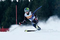 JONES Allison, USA, Slalom, 2013 IPC Alpine Skiing World Championships, La Molina, Spain