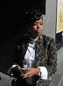 Malinda Williams promotes Dr. Miracle's in New York City