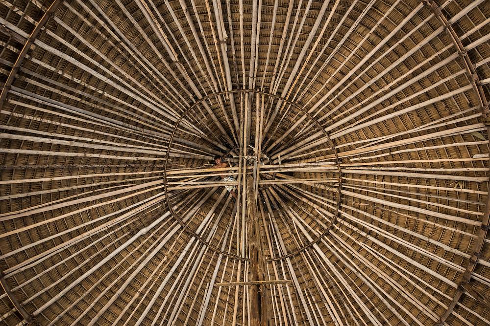 Amerindian Community centre (Benab)<br /> Wai Wai territory, region 9<br /> Gunns<br /> Konashen<br /> GUYANA<br /> South America