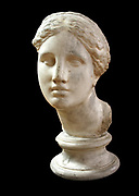 Roman Head of a noble woman or the goddess Venus circa 100 AD