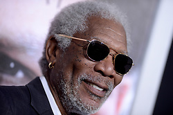 File photo - Morgan Freeman attends the premiere of Warner Bros. Pictures Transcendence at Regency Village Theatre in Los Angeles, CA, USA, on April 10, 2014. US film star Morgan Freeman has apologised following allegations of sexual misconduct made by eight women and several other people. One production assistant accused Freeman of harassing her for months during filming of bank robbery comedy Going in Style, CNN reported. She said the 80-year-old touched her repeatedly, tried to lift her skirt and asked if she was wearing underwear. Photo by Lionel Hahn/ABACAPRESS.COM