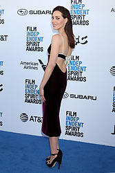 February 23, 2019 - Santa Monica, CA, USA - LOS ANGELES - FEB 23:  Aubrey Plaza at the 2019 Film Independent Spirit Awards on the Beach on February 23, 2019 in Santa Monica, CA (Credit Image: © Kay Blake/ZUMA Wire)