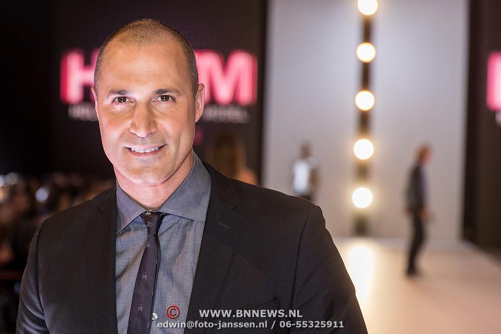 NLD/Amsterdam/20171030 - Holland Next Top Model 2017 finale, Nigel Barker