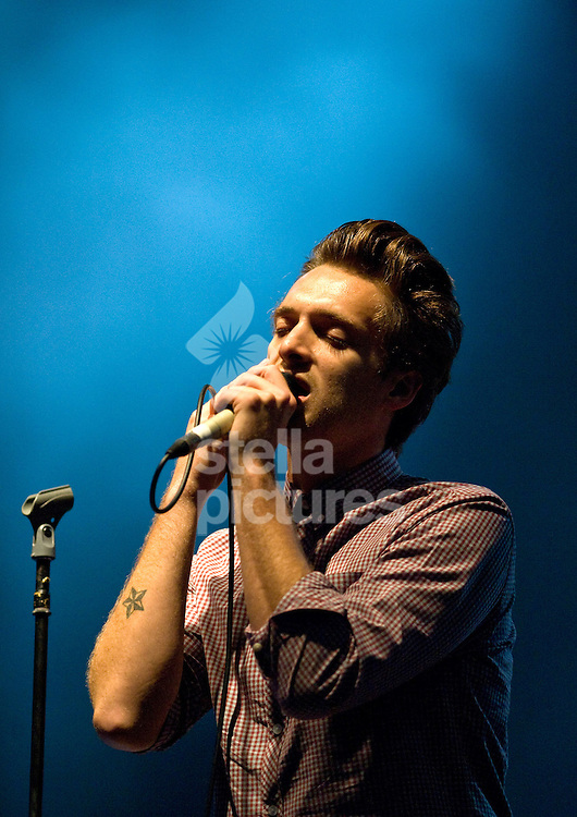 Picture by Daniel Hambury. .16/7/11..Paolo Nutini performs at Latitude, a music and arts festival set on the Henham Estate in Suffolk..The event runs from July 14th to 17th 2011.