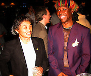 Rocky Aoki &Nile Rodgers.Smock Magazine Launch Party.South Street Seaport.New York, NY.June 26, 2001.Photo By CelebrityVibe.com..
