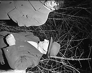Gold Mine - Gold Found at Co. Monaghan - Special for Sunday Express<br /> <br /> Michael Hughes (right) found the Gold <br /> <br /> 01/02/1957