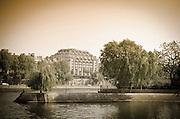 Ãle de la Cité and the Seine River, Paris, France