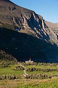 Logan Pass Visitors Center, Glacier National Park.