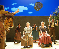 Liolà<br /> Richard Eyre directs Tanya Ronder's new version<br /> at the Lyttelton Theatre, Southbank, London, Great Britain <br /> press photocall <br /> 6th August 2013<br /> <br /> James Hayes as <br /> Simone Palumbo<br /> <br /> Lisa Dwyer Hogg as <br /> Mita Palumbo<br /> <br /> Rosaleen Linehan as <br /> Gesa<br /> <br /> Rory Keenan as Liola<br /> <br /> Charlotte Bradley as <br /> Ninfa<br /> <br /> Eileen Walsh as Carmina<br /> <br /> Aisling O'Sullivan as <br /> Croce Azzara<br /> <br /> Jessica Regan as <br /> Tuzza Azzara<br /> <br /> Carla Langley as <br /> Nela<br /> <br /> Niamh McGowan as<br /> Ciuzza<br /> <br /> Roxanna Nic Liam  as<br /> Luzza<br /> <br /> <br /> (Villagers)<br /> Anne Bird<br /> Anthony Delaney <br /> Jenny Fennessy <br /> Gertrude Montgomery<br /> David Summer<br /> <br /> <br /> Photograph by Elliott Franks