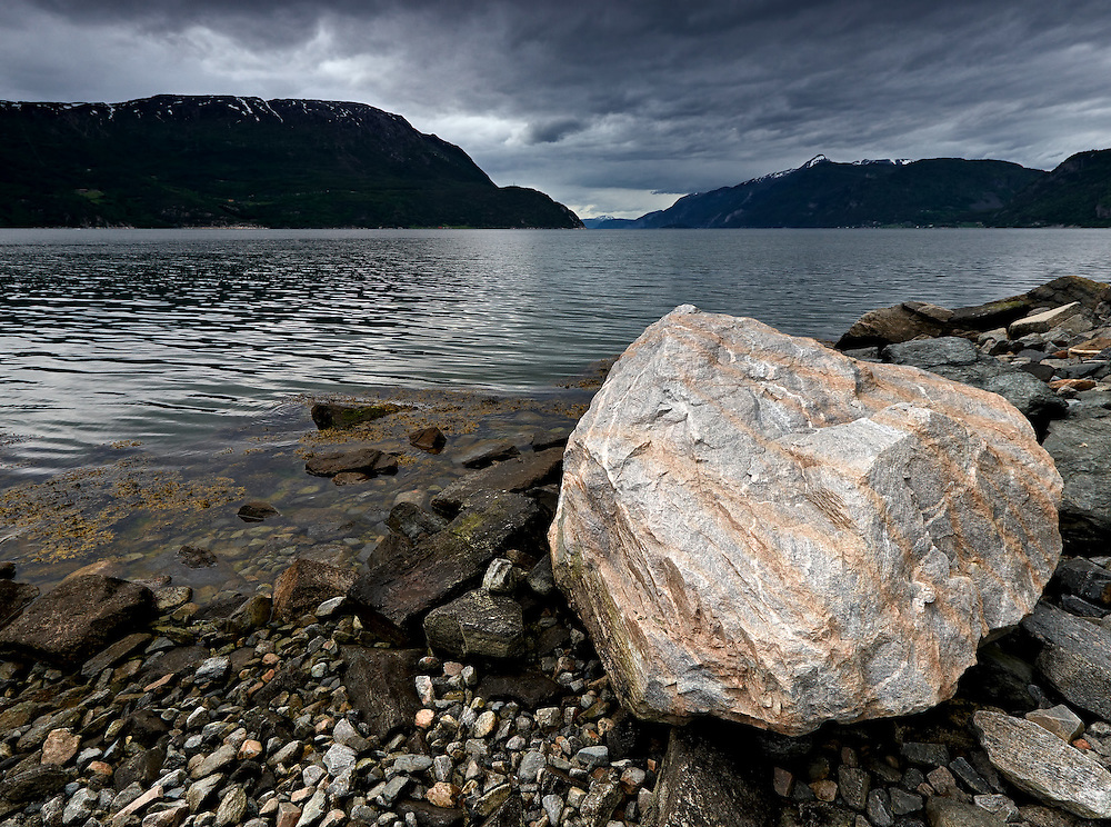 Norway - Rock in Sunndalsfjord
