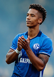 07.08.2016, Alois Latini Stadion, Zell am See, AUT, Testspiel, Schalke 04 vs ACF Fiorentina, im Bild Thilo Kehrer (FC Schalke 04) //  Thilo Kehrer (FC Schalke 04) during the International Friendly Football Match between Schalke 04 and ACF Fiorentina at the Alois Latini Stadium in Zell am See, Austria on 2016/08/07. EXPA Pictures © 2016, PhotoCredit: EXPA/ JFK