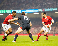 Kurt Morath of Tonga<br /> <br /> Photographer Simon King/Replay Images<br /> <br /> Under Armour Series - Wales v Tonga - Saturday 17th November 2018 - Principality Stadium - Cardiff<br /> <br /> World Copyright © Replay Images . All rights reserved. info@replayimages.co.uk - http://replayimages.co.uk