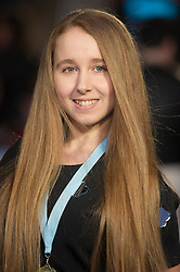 """Afton McKeith-Magaziner attends the European premiere for """"Eddie the Eagle at Odeon Leicester Square in London, 17.03.2016. EXPA Pictures © 2016, PhotoCredit: EXPA/ Photoshot/ Euan Cherry<br /> <br /> *****ATTENTION - for AUT, SLO, CRO, SRB, BIH, MAZ, SUI only*****"""