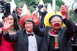 May 25, 2019,  Cannes, France: Kayapo Chief RAONI METUKTIRE attends the 'Sibyl' premiere during Cannes 2019. (Credit Image: © Philippe Farjon/Starface via ZUMA Press)