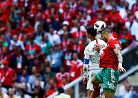 Cristiano Ronaldo (Portugal) and Manuel Da Costa (Morocco)<br /> Moscow 20-06-2018 Football FIFA World Cup Russia  2018 <br /> Portugal - Morocco / Portogallo - Marocco <br /> Foto Matteo Ciambelli/Insidefoto