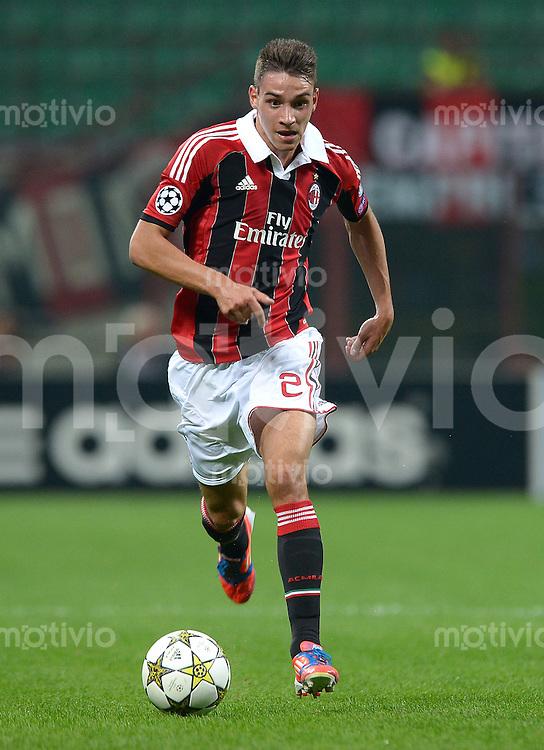 FUSSBALL   CHAMPIONS LEAGUE   SAISON 2012/2013   GRUPPENPHASE   AC Mailand - Anderlecht                            18.09.2012 De Sciglio Mattia (AC Mailand)